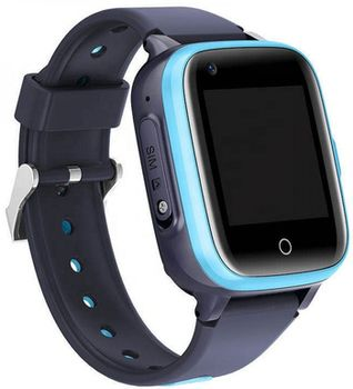 Детские умные часы Wonlex KT15 4G Blue
