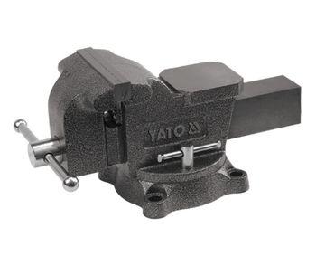 купить Тиски слесарные поворотные YATO 125 мм, 10 кг в Кишинёве