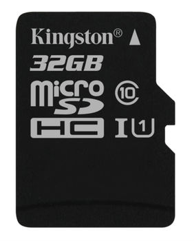Kingston 32GB microSDHC Class10 UHS-I, 300x, Up to: 45MB/s