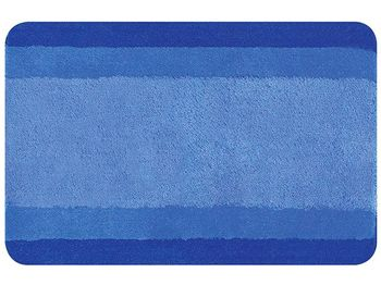 Коврик для ванной комнаты 55X65cm Balance синий, полиэстер