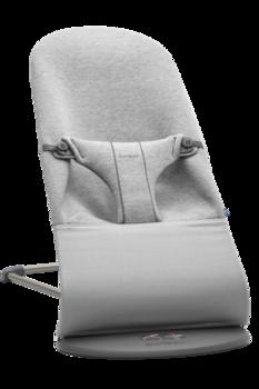 купить Кресло-шезлонг BabyBjorn Bliss Light Grey, 3D Jersey в Кишинёве
