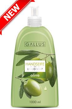 жидкое крем мыло GALLUS 1000ml Blueberry,milk and honey ,Olive,White tea,