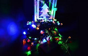 Гирлянды светодиодный 100LED 9M, 6361-35B