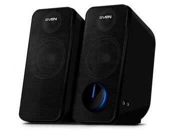 """cumpără Speakers  SVEN """"470"""" Black, 12w, USB power în Chișinău"""