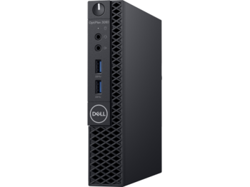 купить DELL OptiPlex 3060 MFF lntel® Core® i5-8500T (Six Core, up to 3.50GHz, 9MB), 8GB DDR4 RAM, 256GB M.2 SSD, no ODD, lnteI® UHD630 Graphics, Wi-Fi/AC-MU-MIMO/BT4.1, TPM, 65W PSU, USB mouse, USB KB216-B, Ubuntu, Black в Кишинёве