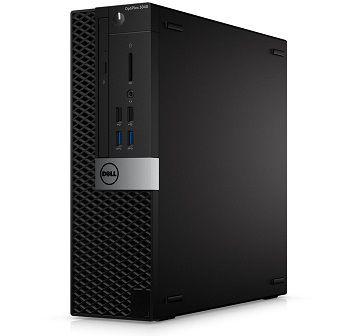 DELL OptiPIex 3040 SFF + Win7/10 Pro lnteI® Core® i3-6100 (DuaI Core, 3.70GHz, 3MB), 4GB DDR3 RAM, 500GB HDD, DVDRW, Intel® HD530 Graphics, 240W PSU, USB mouse, USB KB216-B, Win 7 Pro En (W10 Pro), Black