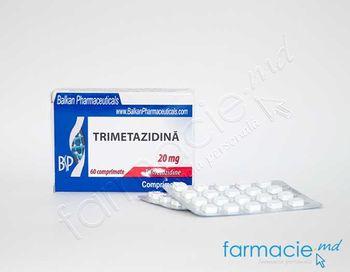 купить Trimetazidina  comp.20 mg N20x3 (Balkan) в Кишинёве