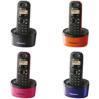 Telephone PANASONIC KX-TG1311UAA Orange,  AOH, Caller ID (50 calls), LCD