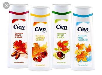 купить Cien гель для душа 300мл (Autumn Glow + Wind Gefluster + Asia Harmony ) в Кишинёве