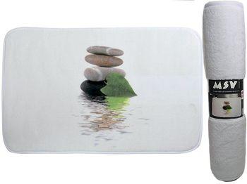 Коврик для ванной комнаты 45X75cm Lingga, микрофибра