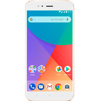 "Xiaomi Mi A1 EU 32GB Gold, DualSIM, 5.5"" 1080x1920 IPS, Snapdragon 625, Octa-Core 2.0GHz, 4GB RAM, Adreno 506, microSD (SIM 2 slot), 12MP+12MP/5MP, LED flash, 3080mAh, WiFi-AC/BT4.2, LTE, Android 7.1.2 (Android One), Infrared port, Fingerprint"