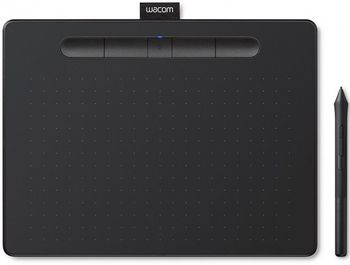 купить Graphic Tablet Wacom Intuos M Bluetooth Black (CTL-6100WLK-N) в Кишинёве