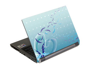 "G-Cube A4-GSE-17W Notebook Skin (Wind), for up to 17"" wide (skin pentru laptop/наклейка на ноутбук)"