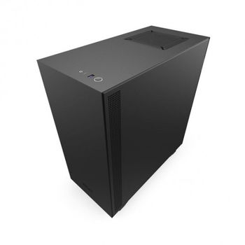 купить Case ATX NZXT H510, 1xUSB 3.1, 1xType-C, 2x120mm, Temp. Glass, Filters, Cable Man., Black в Кишинёве