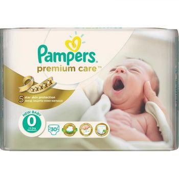 cumpără Pampers (0) VP Premium Care New Baby  N30 în Chișinău