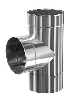 купить Отвод дымохода dn115 х 90° ревизия PROFI Теплодар в Кишинёве