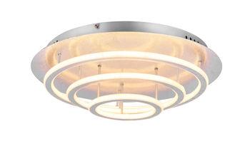 купить 49252-100S Люстра Arryn 90W LED серебро в Кишинёве