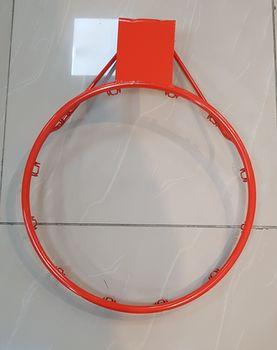 Кольцо для баскетбола с сеткой и фиксаторами d=48 см Spartan S1107 (1202)
