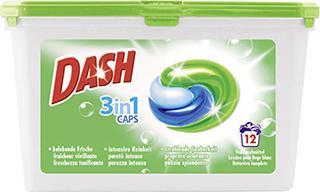 купить Капсулы для стирки Dash 3in1 (12 шт) в Кишинёве