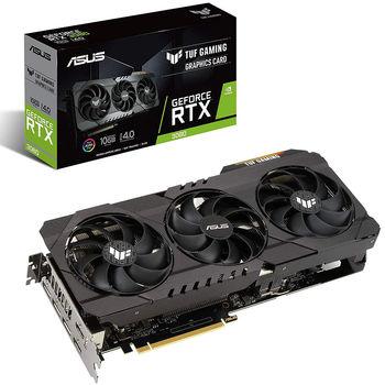 ASUS TUF-RTX3080-O10G-GAMING, GeForce RTX3080 10GB GDDR6X, 320-bit, GPU/Mem speed 1815/19Gbps, PCI-Express 4.0, 2xHDMI 2.1/3xDisplay Port 1.4a (placa video/видеокарта)
