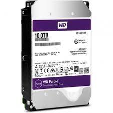 """3.5"""" HDD 10.0TB  Western Digital WD101PURZ Caviar® Purple™, 7200rpm, 256MB, SATAIII"""