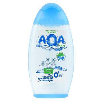 cumpără AQA baby  lotiune de baie pentru copii și șampon 2 în 1 250 ml în Chișinău