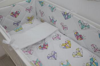 cumpără Set lenjerie pentru pătuc Happy Baby Diamonds (6 un.) în Chișinău