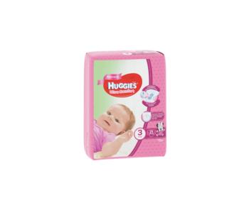 cumpără Scutece Huggies Ultra Comfort Small pentru fetiţă 3 (5-9 kg), 21 buc. în Chișinău