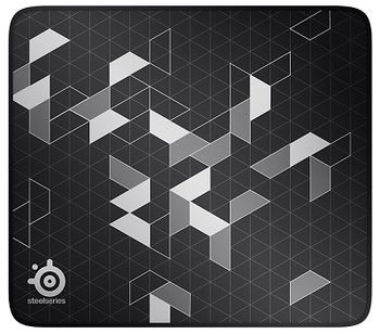 STEELSERIES QcK Limited / Soft Gaming Mousepad, Dimensions: 320 x 270 x 3 mm, Non-slip rubber base, Nearly frictionless surface, Black