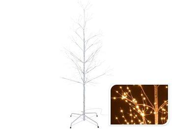 """Дерево декоративное """"Березка"""" 150cm, 510microLED, таймер,теп"""