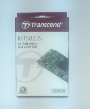 M.2 SSD 240GB Transcend MTS820, Sequential Reads 560 MB/s, Sequential Writes 520 MB/s, Max Random 4k Read 80,000 / Write 85,000 IOPS, M.2 Type 2280 form factor, 3D TLC NAND