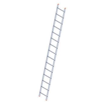 Лестница алюминиевая Sarayli Single 1x17