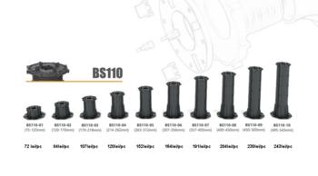 Система опора для фальшпола, база основание BS110 (75-125mm)