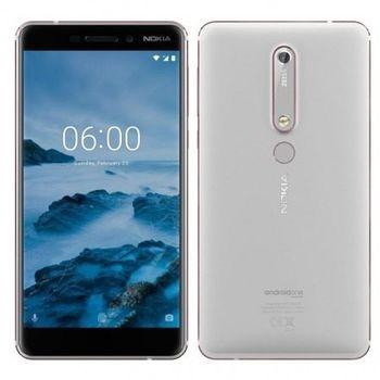 cumpără Nokia 6.1 3/32Gb) Dual sim,White în Chișinău