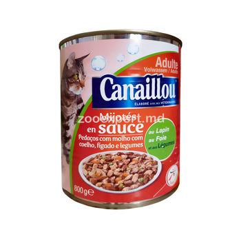 cumpără Canaillou cu carne de iepuri, ficat şi legume 800 gr în Chișinău