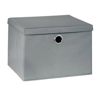 cumpără Cutie de depozitare Boon 460x385x320 mm, gri în Chișinău