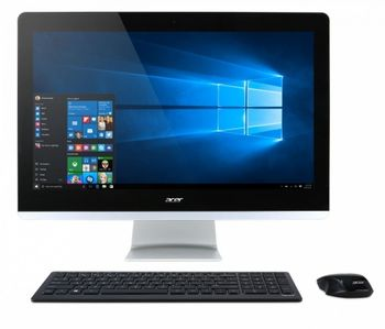"cumpără All-in-One PC - 23,8"" Acer Aspire Z3-715 FullHD (DQ.B87ME.002) Intel® Core® i5-7400T up to 3,0 GHz, 8GB DDR4 RAM, 1TB HDD, DVD-RW, Card Reader, Intel® HD 630 Graphics, Wi-Fi, BT, Gigabit LAN, 135W PSU, FreeDOS, Wireless KB/MS, Black/Silver în Chișinău"