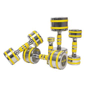 cumpără Gantera Cromata InSportline 1 kg 20831 Yellsteel (3661) în Chișinău