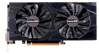 INNO3D GeForce GTX 1060 X2 / 3GB DDR5, 192bit, 1708/8000Mhz, 2x DVI, HDMI, DisplayPort, Dual Fan, Inside the Box: 3D Mark/VR Mark