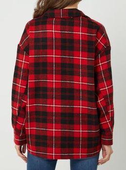 Блуза ONLY Красный в клетку