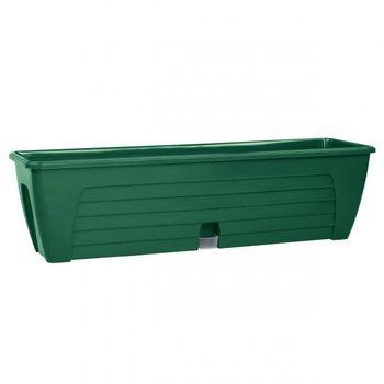 купить Вазон LIDO 600 зеленый (балконный) 647089 в Кишинёве