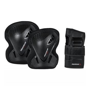 купить Защита для роликов в компл. Powerslide PS One Basic Adult Tri-Pack, 903258 в Кишинёве