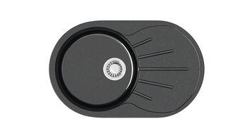 купить Глянцевые каменные мойки (Чёрный) Z110Q4 в Кишинёве