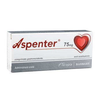 cumpără Aspenter 75 mg comp. film. gastrorez. N7x4 în Chișinău