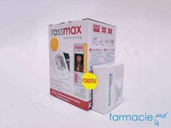 купить Tonometru Rossmax automat X5 (PARR Tehnology)+ Adaptator Cadou в Кишинёве