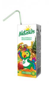 Naturalis нектар мультифрукт 0,2 Л