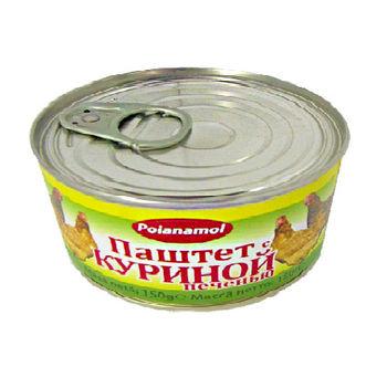 """купить """"Poianamol"""" Паштет с Куриной печенью 290мл в Кишинёве"""