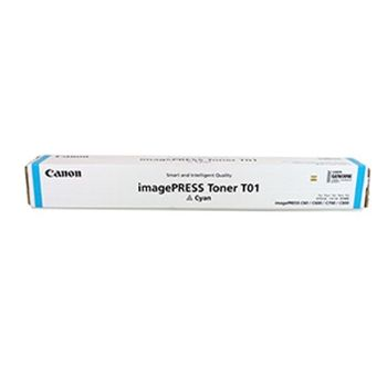 Toner Canon T01 Cyan, (1040g/appr. 39 500 pages 5%) for Canon imagePRESS C8xx,C7xx,C6xx,C6x