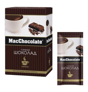 MacChocolate Горячий шоколад классический (10пак в упаковке)