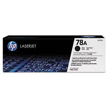 HP Black LaserJet P1566/P1606dn Cartridge, with Smart Printing Technology (2100pages) CE278A